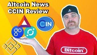 Altcoin News: ICX, OMG, & BAT All Making Progress | Binance Wants Stable Coins | CCIN Review