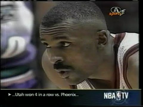1997 NBA playoffs wcf game 4 Utah Jazz-Houston Rockets