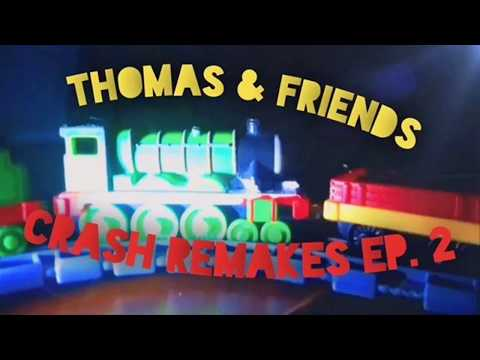 Take N Play Thomas And Friends Crash Remakes Ep.2 || Birthday Special