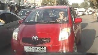 Женщины за рулем - Какой был свет светофора?  (часть 12) ★ Тематические подборки дтп