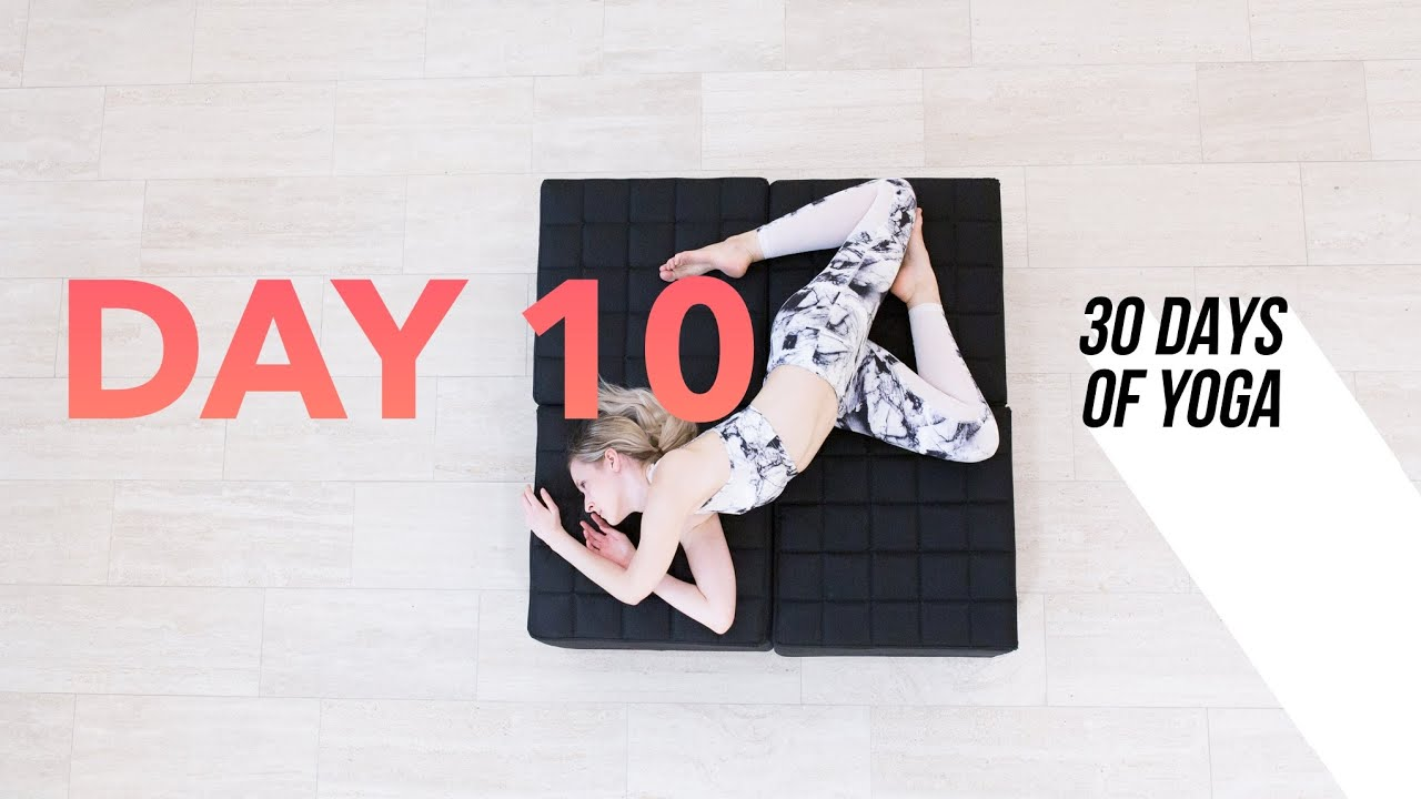 Day 10 ♥ Yin Yoga | 30 DAYS of YOGA 5-Minutes a Day