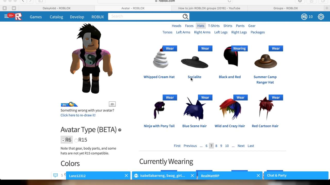 how to make your avatar look cool on roblox