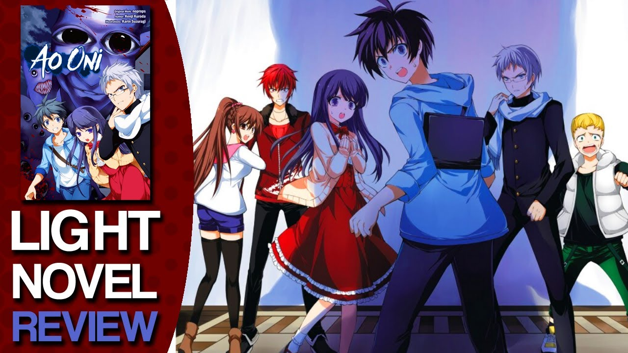Ao Oni Volume 1 Light Novel Review Youtube