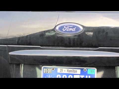 2003 2004 Ford Explorers Cracked Rear Panel Youtube