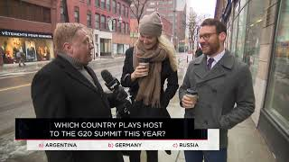 Which country plays host to the G20 summit this year? | Outburst