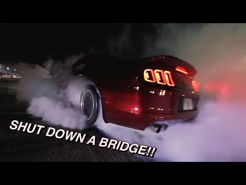 STREET RACERS TAKEOVER STREETS OF MIAMI: GUY GETS INJURED...