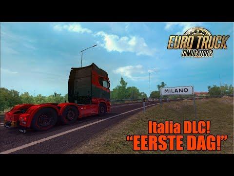 """""""EERSTE DAG!"""" Italia DLC! Euro Truck Simulator 2 {G29}"""