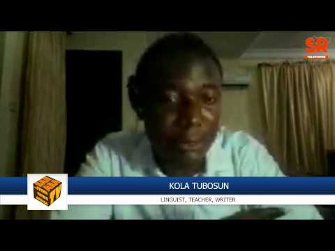 Linguist Researcher Kola Tubosun Discusses Project On Yoruba Multimedia Dictionary