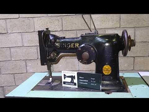 Maravillosa colección de máquinas de coser modelos de casi 100 años