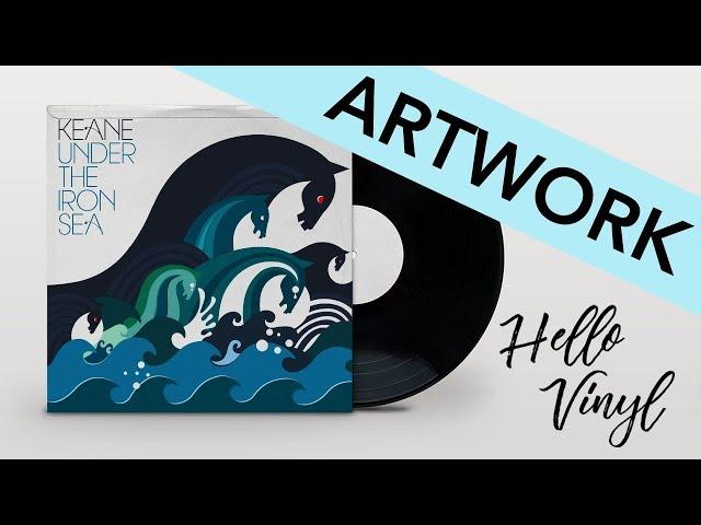 ARTWORK / KEANE - Under The Iron Sea / Hello vinyl