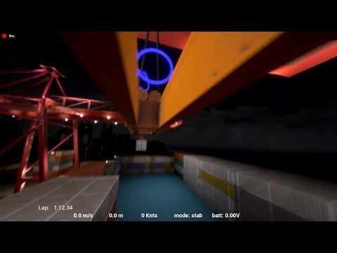Rotorrush Tiny Whoop Track Demo : Whoop Dock Yard
