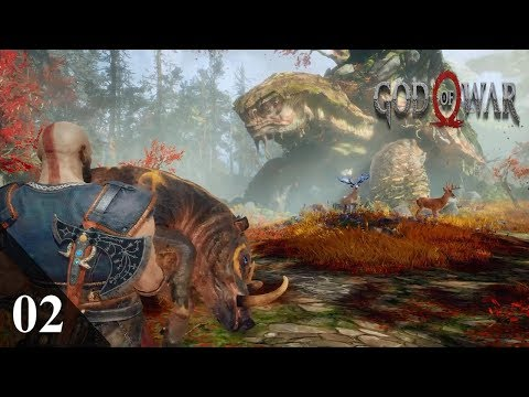 God of War 4 Walkthrough Part 02: Path to the Mountain