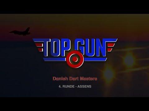 Dart - Top Gun 4. runde - Danish Dart Masters - Assens