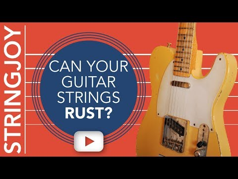 Do Guitar Strings Really Rust? Or Is It Just Tarnish?