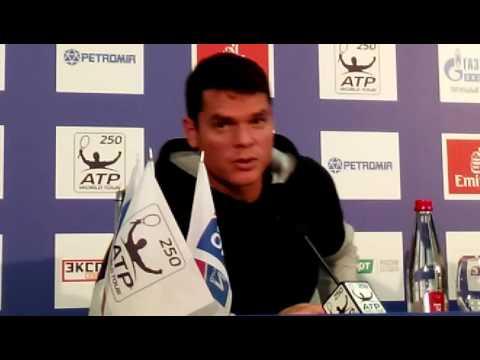 St. Petersburg Open2016 – пресс Милоша Раонича (10)