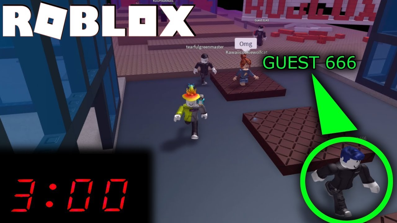 Do Not Play Roblox At 3am Found Guest 666 Youtube