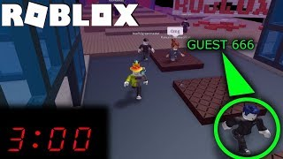 DO NOT PLAY ROBLOX AT 3AM! *FOUND GUEST 666*