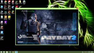 How to fix Payday 2 from the black screen on start up *2015*