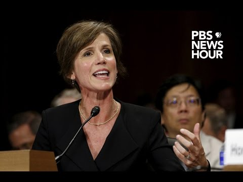 Live: Sally Yates testifies before Senate subcommittee investigating Russia ties to the election
