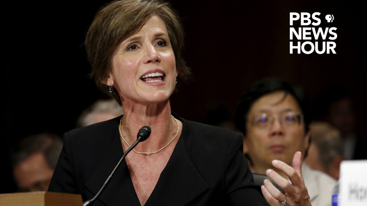 Here's why Sally Yates is such a key part of the Trump-Russia investigation