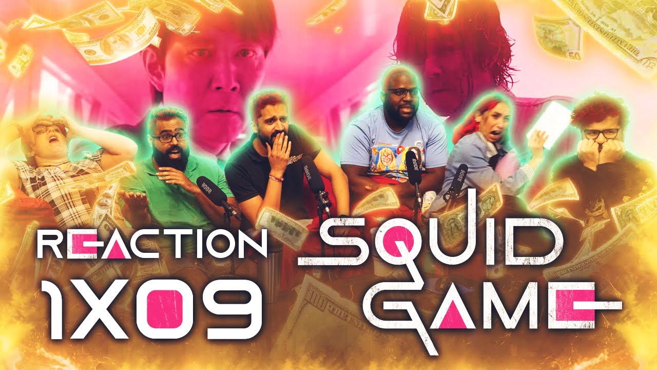 Download Squid Game - 1x9 One Lucky Day - Group Reaction