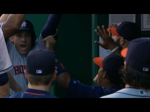 HOU@KC: Astros Open Game With Nine-run 1st Inning