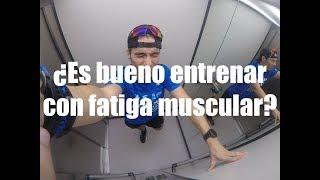 El extrema fatiga muscular ejercicio durante