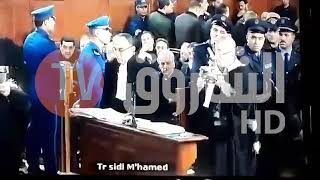 شاهد العيفا  أويحي يرافع  عن شقيقه احمد  أويحي في محكمة سيدي امحمد