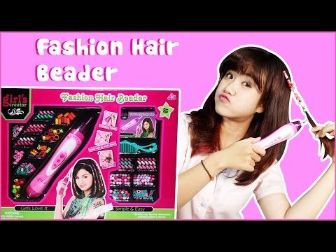 Chị Vannie làm tóc siêu hậu đậu | The clumsy hairdresser Vannie | Fashion hair beader | Pandora box
