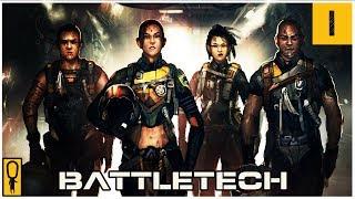 The First 66 Minutes of BattleTech - Part 1 - Let's Play BattleTech Gameplay Walkthrough Pre-Re
