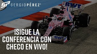 Ve la conferencia de Checo Pérez ¡En VIVO!