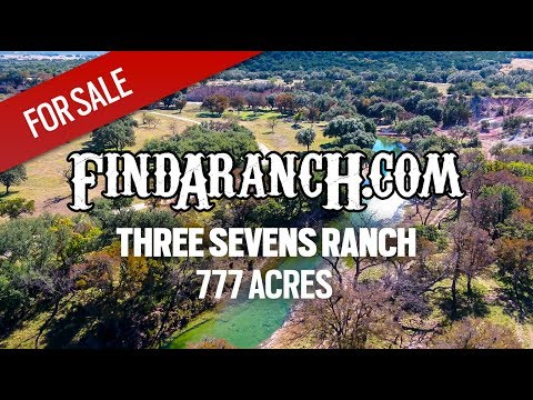 Three Sevens Ranch - 777 Acre Texas Hill Country Property - Findaranch.com