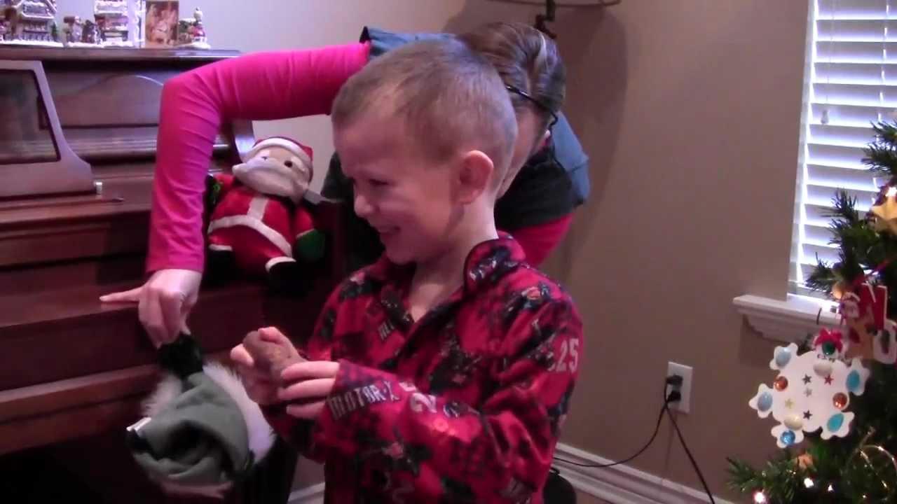 Kid Gets Coal For Christmas