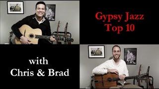 Gypsy Jazz top 10 - Episode 2: DIJ licks