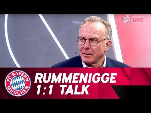 """""""Der große Kader ist ein Luxusproblem""""   Karl-Heinz Rummenigge im 1:1 Talk"""