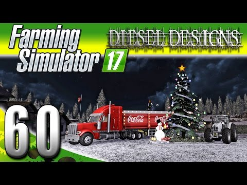 Farming Simulator 2017 Gameplay :EP60: Merry Christmas! (PC HD Goldcrest Valley)