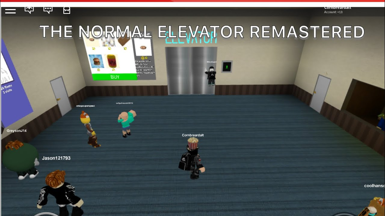 The Normal Elevator Remastered New Update Roblox The Normal