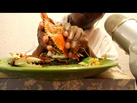 Eating Crab ASMR: Seafood Whispers 3D REQUEST