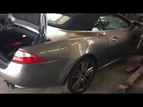 Location And How To Change Battery Jaguar Xkr Xk