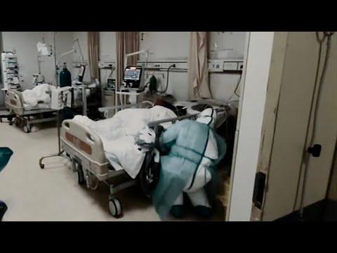 Under pressure medics in China undergo psychological treatment