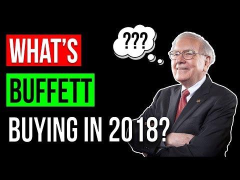 What Stocks is Warren Buffett Buying in 2018