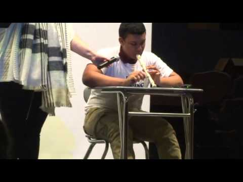 Drum Pads And Pen Tapping Reactions in School Auditorium!