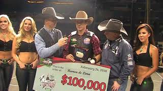 The Rodeo Roundup Talks With The 2018 PBR Iron Cowboy Winner Ramon de Lima at AT&T Stadium