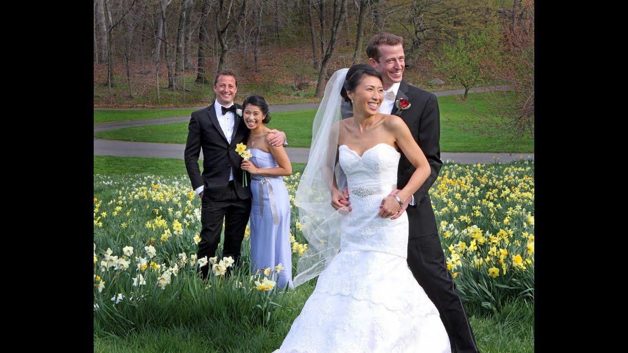 Tim Rebekah Bronx Botanical Garden Wedding Youtube