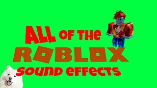 All Roblox Sound Effects