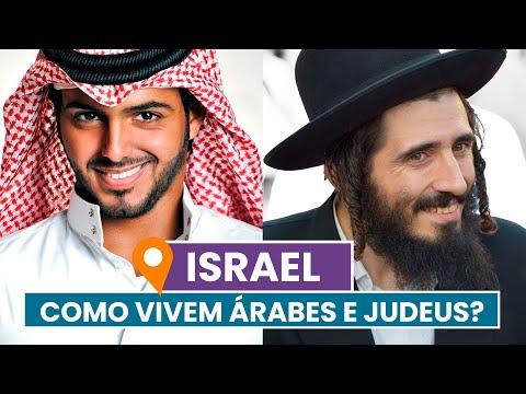 Como Vivem ÁRABES E JUDEUS Em ISRAEL?