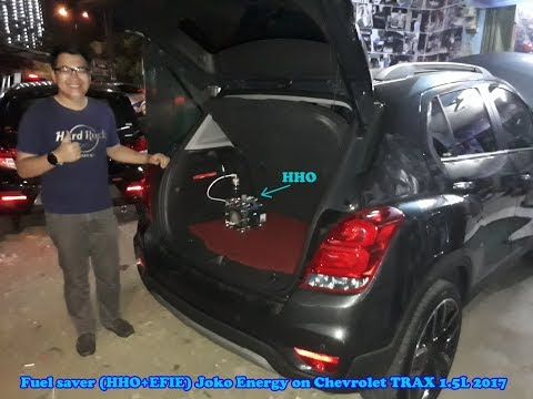 Fuel saver (HHO+EFIE) Joko Energy on Chevrolet TRAX 1.5L 2017