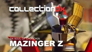 DX Soul of Chogokin Mazinger Z Review Part 1 - Unboxing - CollectionDX