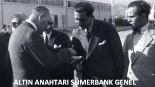 Atatürk Nazilli Basma fabrikasını açıyor.(9 Ekim 1937)