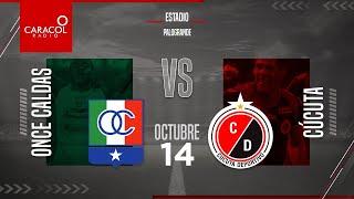 EN VIVO | En el Fenómeno del Fútbol | Once Caldas vs Cúcuta Deportivo - Fecha 14 de la Liga Betplay.